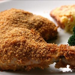 Oven Fried Chicken With Corn Flakes recipe