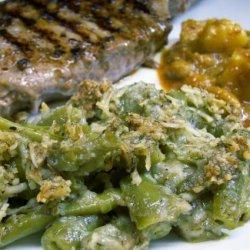 Herbed Green Bean Casserole recipe
