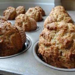 Healthy Pumpkin Banana Muffins recipe
