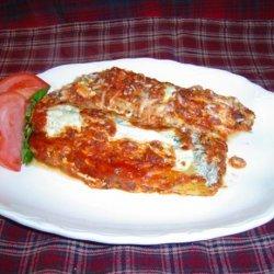 Baked Manicotti recipe