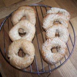 Bread Maker Bagels recipe