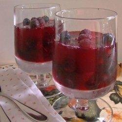 Sparkling Berry Jello Salad recipe
