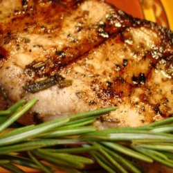 Grilled Rosemary Garlic Pork Chops recipe
