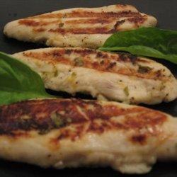 Grilled Basil Lemon Chicken recipe