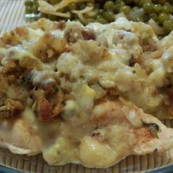Chicken Stuffing Bake recipe