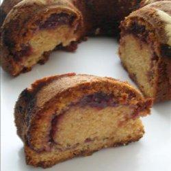 Peanut Butter Jelly Swirl Bundt Cake recipe