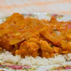 Balti Fish Curry recipe