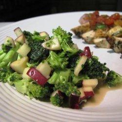 Broccoli and Apple Salad recipe