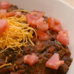 Western Black Bean Dip recipe