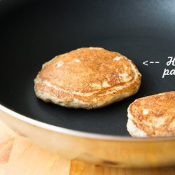 Oatmeal Buttermilk Pancakes recipe