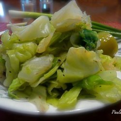 Five Minute Sweet Peppered Cabbage recipe