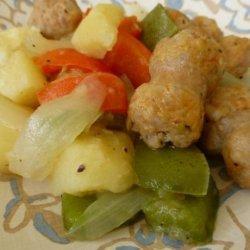 Sausage, Pepper and Potato Skillet recipe
