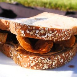 Peanut Butter, Jelly, and Chip Sandwich recipe