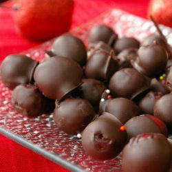 Chocolate Covered Cranberries recipe