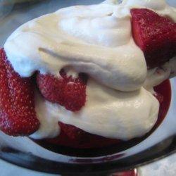 Strawberries Romanoff Taste Just Like La Madeleine -Copycat recipe