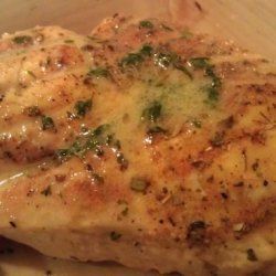 Broiled Herb Chicken With Lemon Butter Sauce recipe