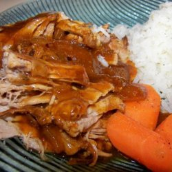 Couldn't Be Easier BBQ Pork Tenderloin (Crock Pot) recipe