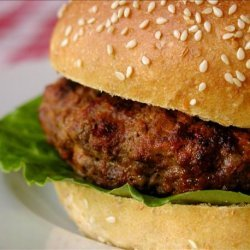 Buffalo Sauce Burgers Stuffed With Blue Cheese recipe