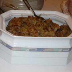 Stuffing for Christmas or Thanksgiving recipe