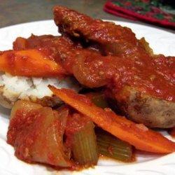 Swiss Steak for the Crock Pot recipe