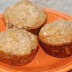 Peach Oatmeal Muffins recipe