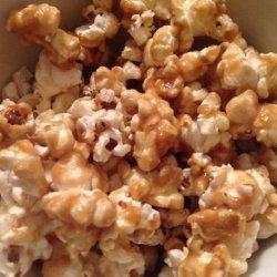 Fast and Easy Caramel Popcorn recipe