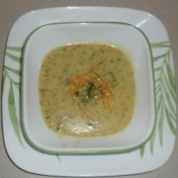Quizno's Broccoli Cheese Soup recipe