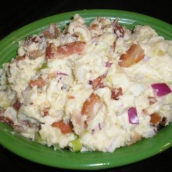 Potato Salad With Mustard Dressing and Bacon recipe
