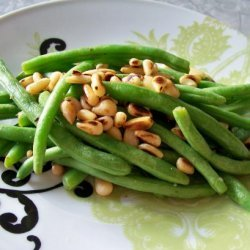 Green Beans With Pine Nuts recipe