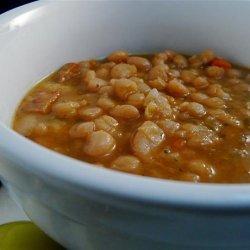 Smoked Sausage and White Bean Soup recipe