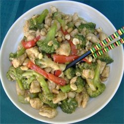 Kung Pao Chicken with Broccoli recipe