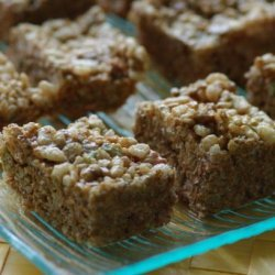 Ham on the Street Coffee Rice Krispies Bars, Simple and Yummy! recipe