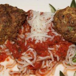 Spaghetti & Tofu   Meatballs   recipe