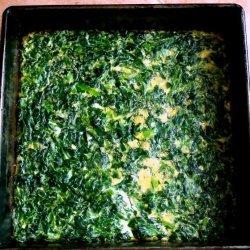 No Carb Spinach Bread recipe