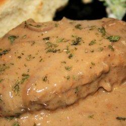 Pork Chops With Sour Cream Sauce recipe