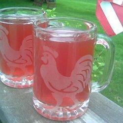 Honey Raspberry Iced Tea recipe