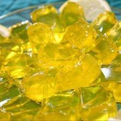 Lemon Drop Jello Shots recipe