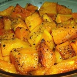 Butternut Squash With Garlic and Olive Oil recipe