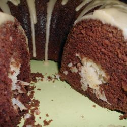 Chocolate Macaroon Cake - Bundt Cake recipe