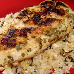 Greek Grilled Chicken Breasts recipe