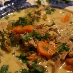 Creamy Chicken-Wild Rice Soup recipe