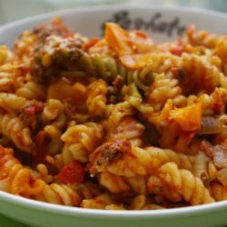 Baked Ziti With Fire Roasted Tomatoes recipe