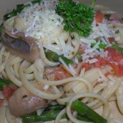 Uncle Bill's Asparagus Pasta Primavera recipe