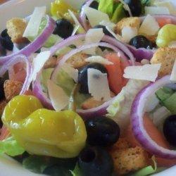 Olive Garden Salad (Copycat) recipe