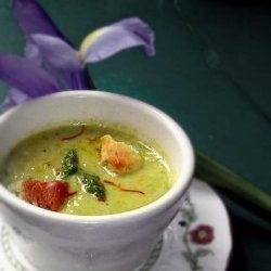 Fresh Cream of Asparagus Soup from the Farm recipe