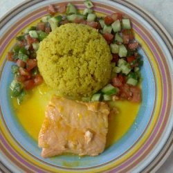 Easy Honey Salmon For 2 recipe