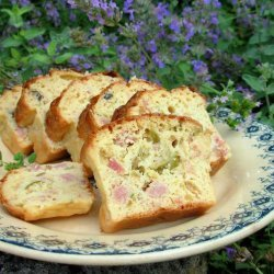 Oooh La La! French Savoury Ham, Cheese and Olive Cake recipe
