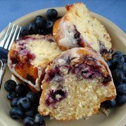 Blueberry Coffee Cake With Vanilla Glaze recipe