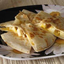 Cheesy Apple Breakfast Quesadillas recipe