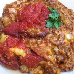 Emaw's Chili Pie recipe